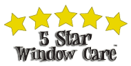 5 Star Window Care Logo