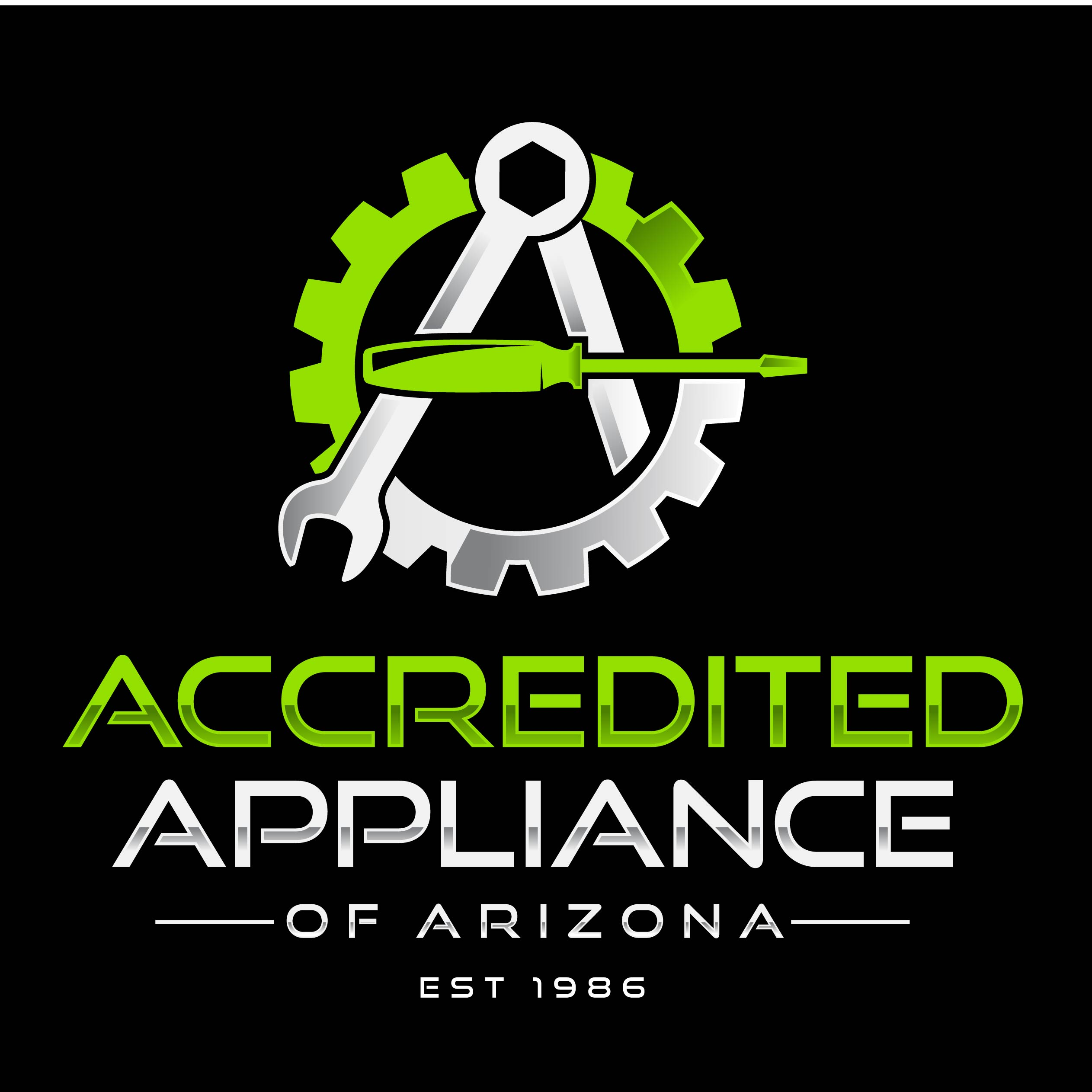 Accredited Appliance Of Arizona LLC. Logo