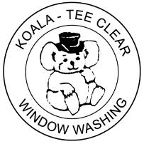 Koala-Tee Clear Window Washing Logo
