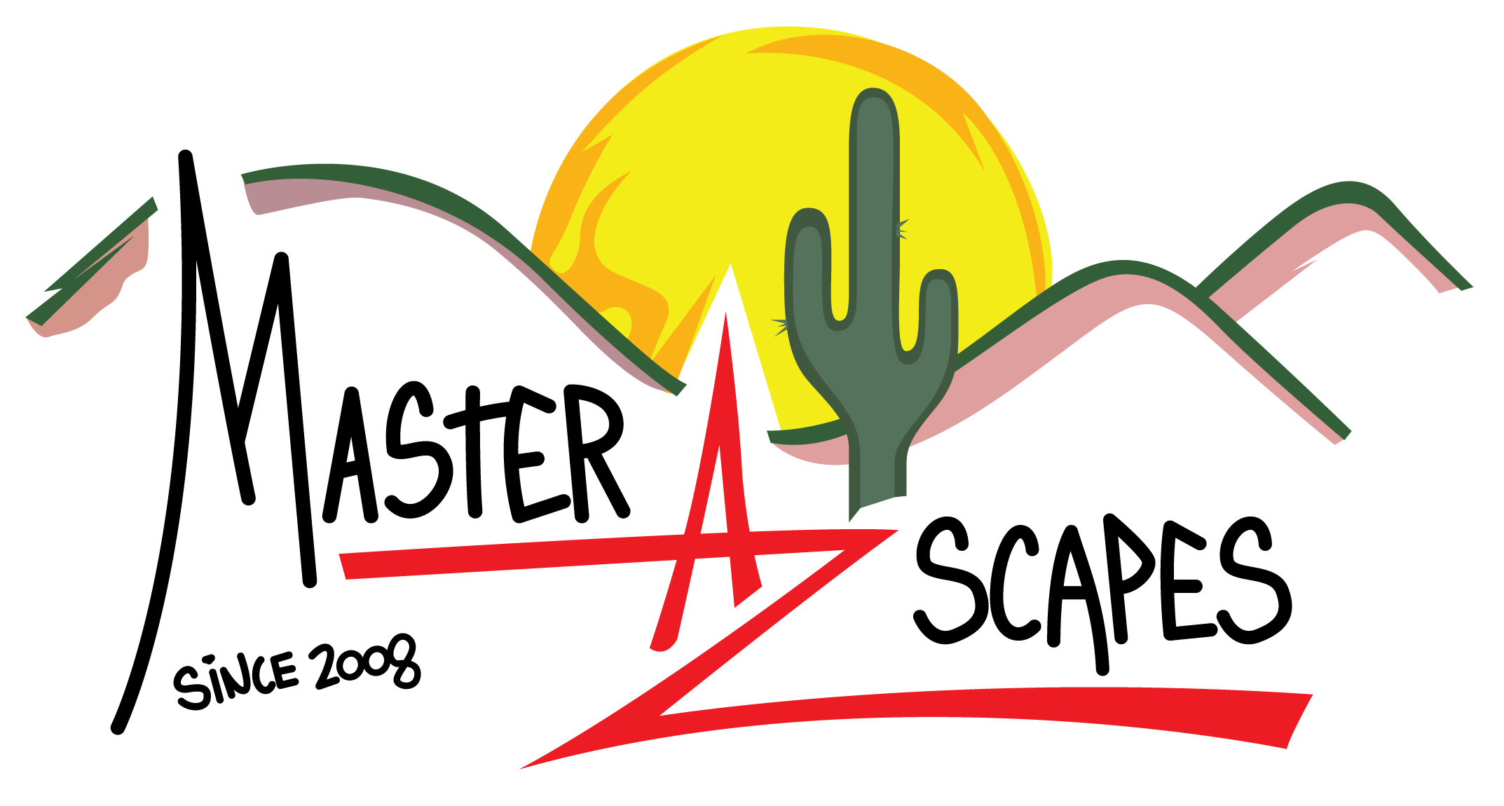 MasterAZscapes LLC Logo